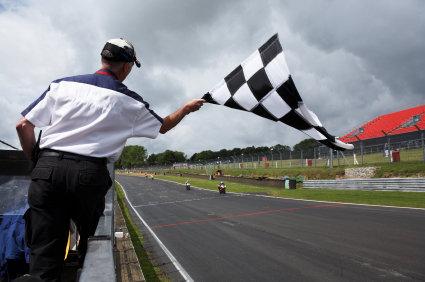 flaga koniec wyścigu